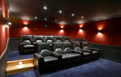 home theater acoustic design.  Wall Upholstery for Home Theaters and Acoustics